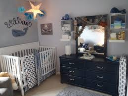 Nautical Crib Bedding by William U0027s Whale Nursery Project Nursery Nursery And Nautical