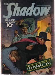 The Shadow Pulp Magazine March 1 1942 Vengeance Bay Machine