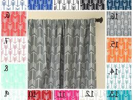 Navy Geometric Pattern Curtains by Charm Design Joyful Pretty Shower Curtains Via Yummy Living Room