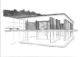 100 Barcelona Pavilion Elevation Our Project