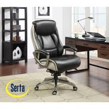 Serta Big And Tall Executive Office Chairs by Leather Executive Desk Chair Richfielduniversity Us
