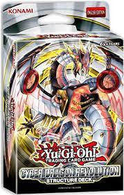 amazon com yugioh tcg trading card game cyber dragon revolution