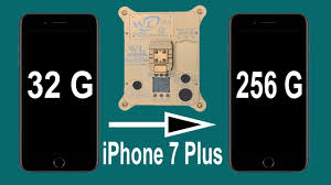 Upgrade iPhone 7 Plus internal storage from 32 to 256G by changing