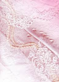Lace Pearls And Chiffon Vintage Background Stock Photo