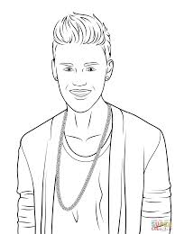 Click The Justin Bieber Coloring Pages To View Printable Version Or Color It Online Compatible With IPad And Android Tablets