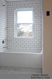 white subway tile bathroom small white tile bathrooms white