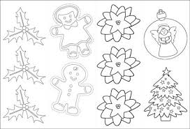 Coloring Bookmarks For Christmas Tag Craft
