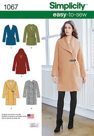 1067 simplicity creative group misses u0027 easy to sew jacket or