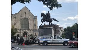 J.E.B. Stuart Monument In Richmond Vandalized