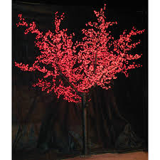 8 Ft Pre Lit Multicolor Christmas Tree by 12 Ft Pre Lit Led Cherry Blossom Tree Red Hayneedle