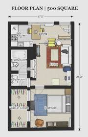 300 Sq Ft Apartment Studio Ideas Floor Plans 500