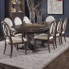 A R T Furniture Inc Saint Germain 9 Piece Double Pedestal Dining