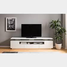 loftscape tv lowboard lisby hochglanz weiß mdf modern mit beleuchtung tv aufsatz