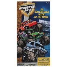 100 Monster Truck Tattoos 32 Count Deluxe Jam