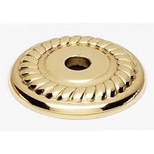 Cabinet Hardware Backplates Brass by Brass Polished Backplates Cabinet Hardware And Knobs Bellacor