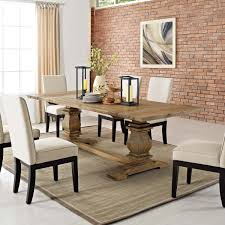 Rise Extendable Wood Dining Table Brown By Modern Living
