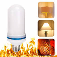 led effect light bulb e27 led flickering l