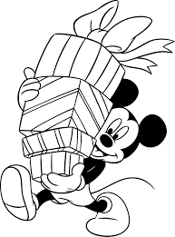 Dibujos Para Colorear Disney Navidad Dibujos Para Cortar Y Colorear