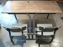 bureau ecolier table d ecolier en bois table et chaise daccolier pupitre ecolier
