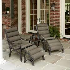 Kmart Outdoor Dining Table Sets by Alluring Jaclyn Smith Marion 5 Piece Seating Set In Brown Kmart On