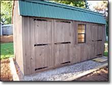 Amish Storage Sheds Garden Sheds Horse Barns Garages and
