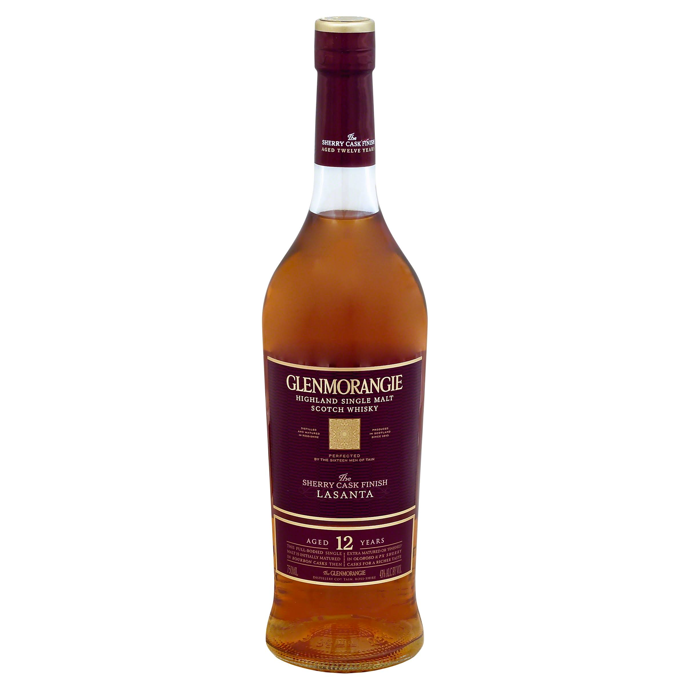 Glenmorangie Whisky, Highland Single Malt Scotch, Lasanta - 750 ml