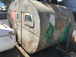 This Is A Very Rare 1936 Albatross Trailer As Far We Know The Only One Ever To Be Built