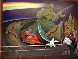 denver international airport murals pictures denver international airport bunker are the murals a conspiracy