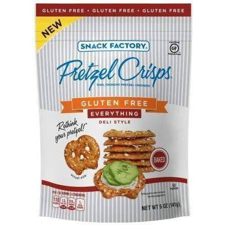 Pretzel Crisps Cracker - 5oz
