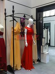 Wrought Iron Wedding Dress Clothing Aircraft High End Store Display Rack Hanger Shelf Boutique In Storage Holders Racks From