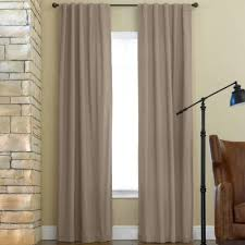jcpenney home jenner cotton rod pocket back tab thermal curtain