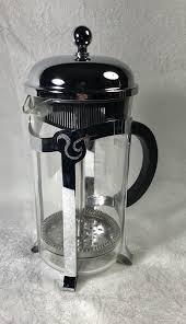 Starbucks Barista 8 Cup French Press Coffee Maker Glass Stainless Steel Bodum 1 Of 7Only Available