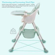 Fortunet Multifunctional Baby High Chair,High Chair With Removable Tray And  Adjustable Legs Baby Feeding Table And Chair Set With Comfortable Baby ...