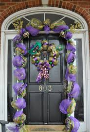 Mardi Gras Mask Door Decoration by Backyards Mardi Gras Door Il Fullxfull Decorations For Front