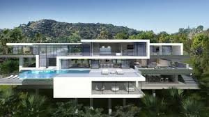 100 Sunset Plaza House Two Modern Mansions On Drive In LA By Ameen