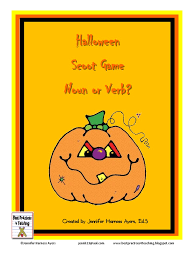 Halloween Mad Libs by Halloween Noun Verb Scoot Verb Syntax