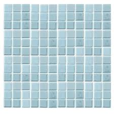 Glow In The Dark Mosaic Pool Tiles by Blues The Home Depot
