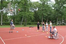 terrain de basket exterieur creps de poitiers les installations sportives