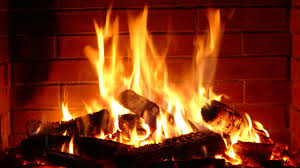 Fireplace 10 hours with Instrumental Christmas Music