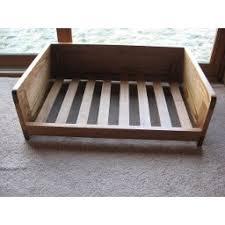 Ash Wooden Dog Bed