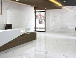 calacatta porcelain tile contemporary bathroom nashville 15