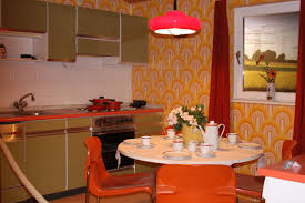 Design Using Black Inspiring Kitchen Decoration 1960s Cabinet Ideas Engaging Modern Red Tall