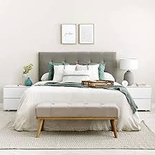 kenay home vint sitzbank für schlafzimmer beige 108 x 41 x