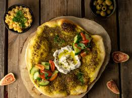 levante küche selbstgemachter labneh käse mit balila und ousheh zatar brot