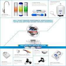 Pur Faucet Adapter Leaking by Ispring 75gpd 5 Stage Reverse Osmosis Water Filter System