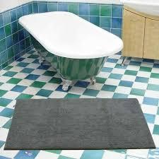 badteppich baumwolle duschvorleger badezimmer läufer
