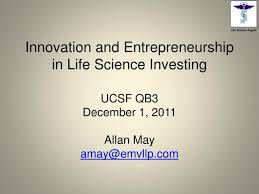 A Translational Innovation Forum Ppt Ppt Innovation And Entrepreneurship In Science Investing