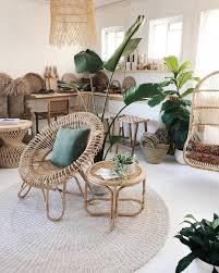 bohemian rattan chair loooove hippie wohnzimmer dekor