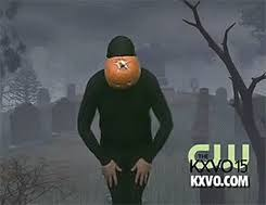 Halloween Soon Pumpkin October Prepare For Head The Skeleton War Man Dancing