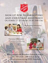 Christmas Tree Shop Danbury Holiday Hours by The Salvation Army Helps In Connecticut And Rhode Island The